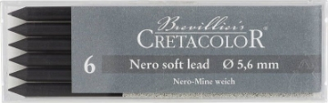 Picture of Cretacolor Artists Nero Leads Soft (Set of 6)
