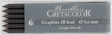 Picture of Cretacolor Artists  Graphite Leads 2B (Set of 6)