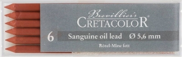 Picture of Cretacolor Artists Sanguine Oil Leads Medium (Set of 6)