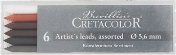 Picture of Cretacolor Artists  Leads Assorted Grades (Set of 6)