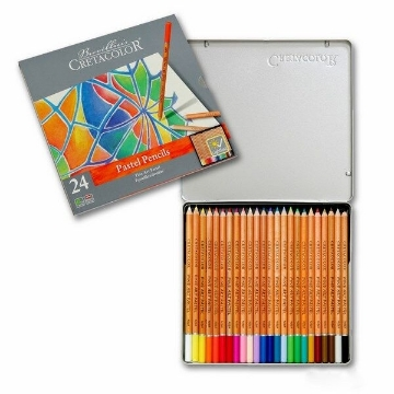 Picture of Cretacolor Fine Art Pastel Pencil Set of 24 - Tin Box