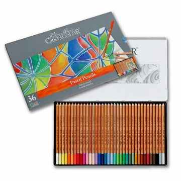 Picture of Cretacolor Fine Art Pastel Pencil Set of 36 - Tin Box