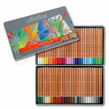 Picture of Cretacolor Fine Art Pastel Pencil Set of 72 - Tin Box