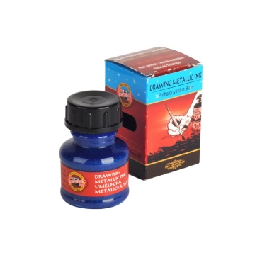 Picture of Kohinoor Drawing Ink 20g Metallic Phthalo Blue
