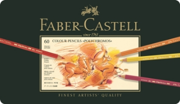 Picture of Faber Castell Polychromos Artist Colour Pencil set of 60