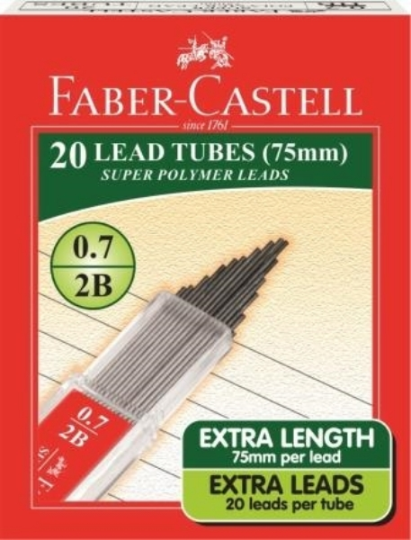 Picture of Faber Castell 0.7 2B Lead