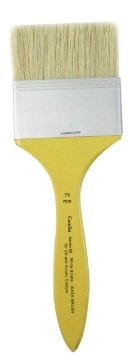 Picture of CAMEL S-58 WHITE BRISTLE WASH BRUSH WIDTH 7.5cms