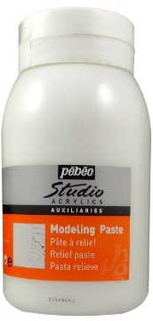 Picture of Pebeo Studio Acrylic Modeling Paste - 1000 ml jar