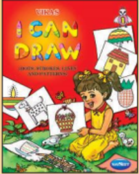 Picture of Vikas I Can Draw DOTS, STROKES, LINES, AND PATTERNS Book