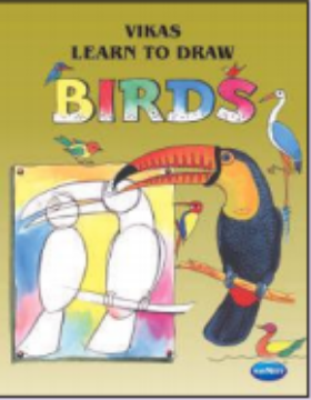 Picture of Vikas Learn To Draw - BIRDS Book