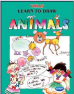 Picture of Vikas Learn To Draw - ANIMALS Book