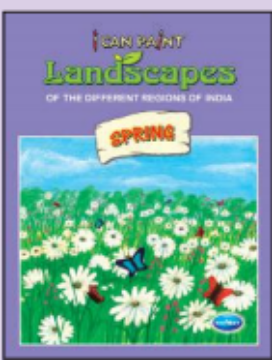 Picture of Vikas I Can Paint Landscapes - Spring Book