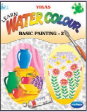 Picture of Vikas Learn Water Colour Basic Painting Book 2