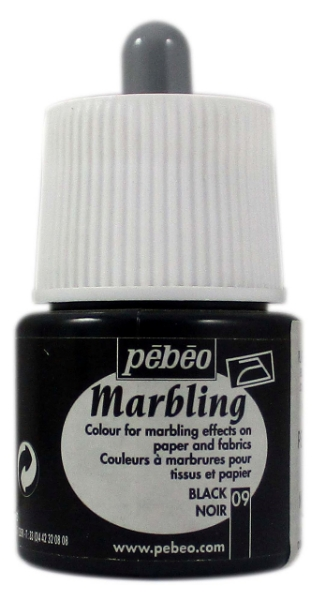Picture of Pebeo Marbling Colour 45ml Black (09)