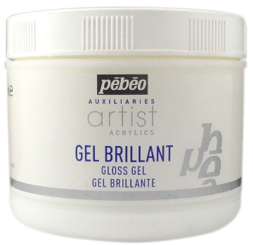 Picture of Pebeo Artist Acrylic Extra Fine Gloss Gel - 500 ml jar