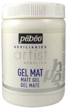 Picture of Pebeo Artist Acrylic Extra Fine Matt Gel - 250 ml Tube