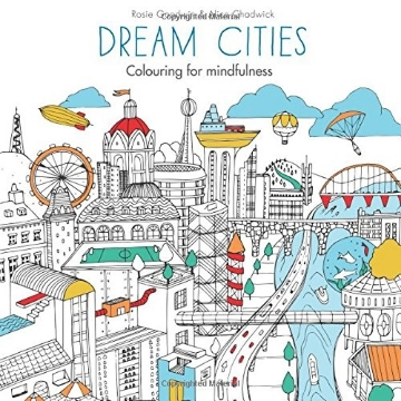 Picture of DREAM CITIES: COLOURING FOR MINDFULNESS