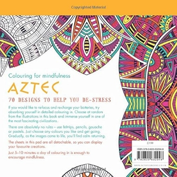 Picture of Aztec: 70 designs to help you de-stress