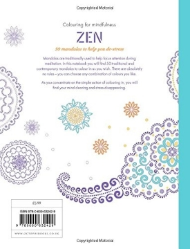 Picture of ZEN: 50 MANDALAS TO HELP YOU DE-STRESS