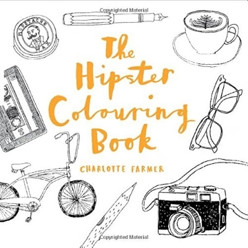 Picture of The Hipster Colouring Book