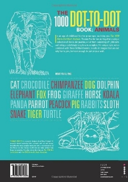 Picture of The 1000 Dot-To-Dot Book: Animals