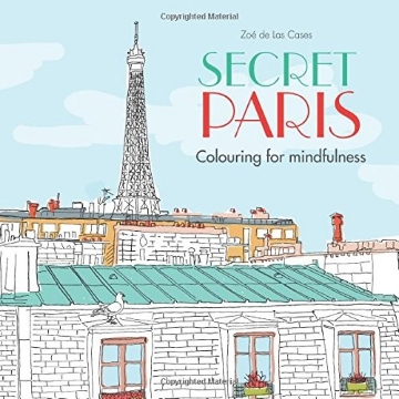 Picture of SECRET PARIS: COLOURING FOR MINDFULNESS
