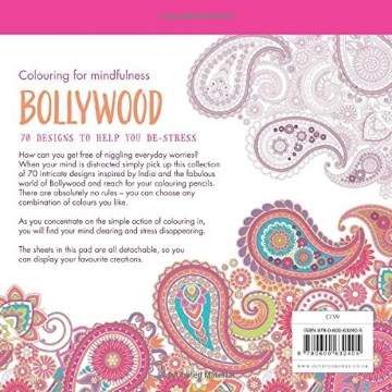 Picture of BOLLYWOOD: 70 DESIGNS TO HELP YOU DE-STRESS