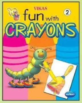 Picture of Vikas Fun with Crayons Book 2