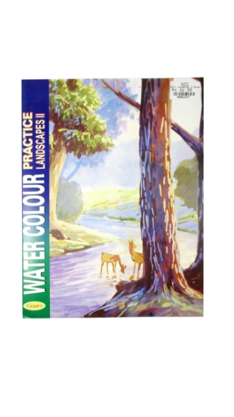 Picture of Vasan's WaterColour Practice Landscapes II Book