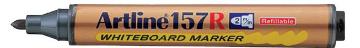 Picture of Artline 157R Refillable White Board Marker Black 2mm