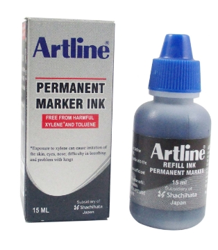 Picture of Artline Permanent Marker Ink Blue 15ml
