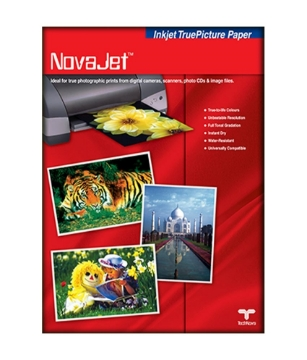 Picture of Novajet Gloss Paper WR 182Gsm 50 Sheets