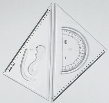 Picture of Omega Set Square 25x30cm