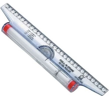 Picture of Omega Roll-N-Draw Ruler 30cm