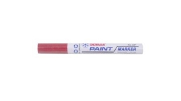 Picture of Snowman Oil Marker 4.5 mm Colours - Burgundy