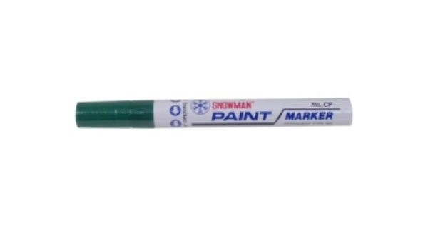 Picture of Snowman Oil Marker 4.5 mm Colours - Dark Green