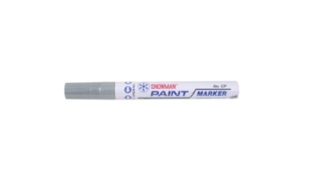 Picture of Snowman Oil Marker 4.5 mm Colours - Grey
