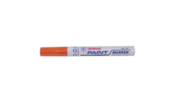Picture of Snowman Oil Marker 4.5 mm Colours - Orange