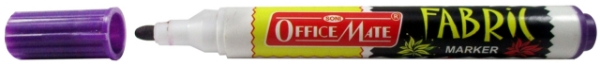 Picture of Office Mate Fabric Marker Violet