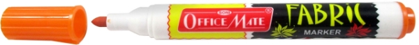 Picture of Office Mate Fabric Marker Orange