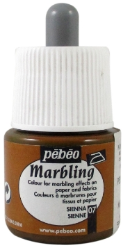 Picture of Pebeo Marbling Colour 45ml Sienna (07)