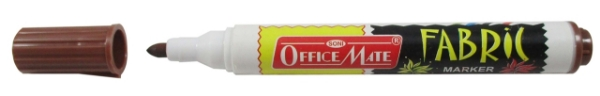 Picture of Office Mate Fabric Marker Brown