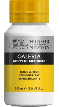 Picture of Winsor & newton Galeria Acrylic Mediums Gloss Varnish 500ml