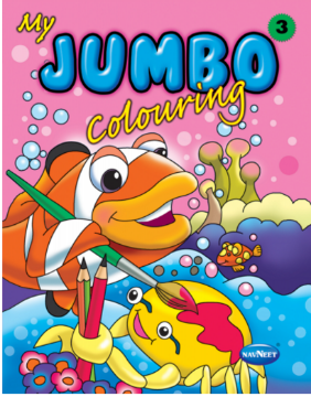 Picture of Vikas My Jumbo Colouring Book 3