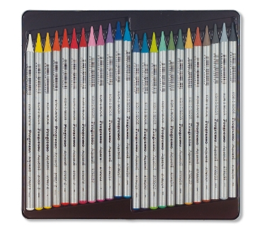 Picture of Kohinoor Aquarelle Woodless Colour Pencils Set of 24