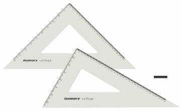 "Picture of Isomars 10""x12"" Set Square"