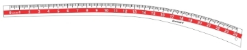 Picture of Deepak Hip Leg Curve Scale 24""