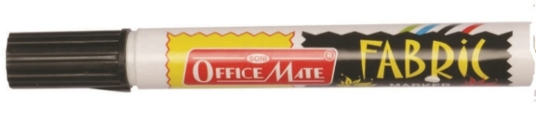 Picture of Office Mate Fabric Marker Black
