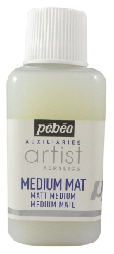 Picture of Pebeo Artist Acrylic Matt Medium 250 ml bottle