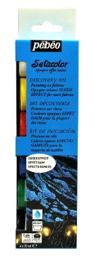 Picture of Pebeo Setacolour Studio Effect Discovery Collection Set 6x20ml